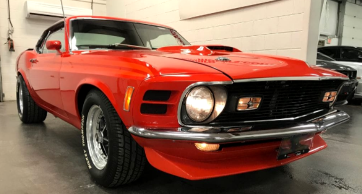 custom built 1970 ford mustang