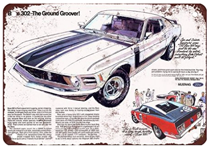 wimbledon white 1970 ford mustang boss 302