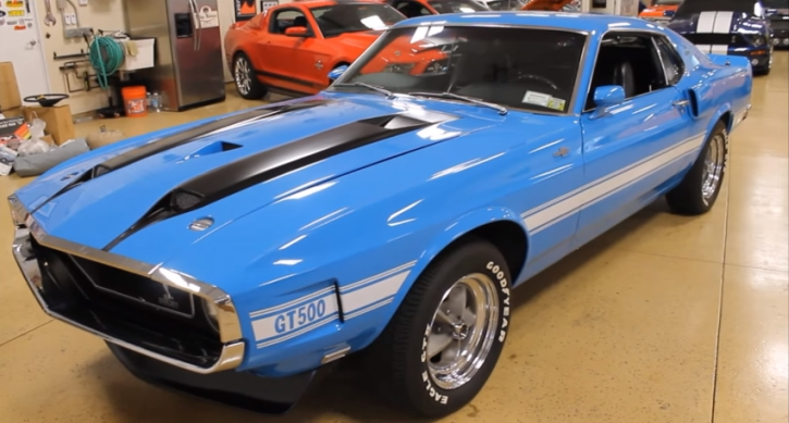 rare 1970 mustang shelby gt500