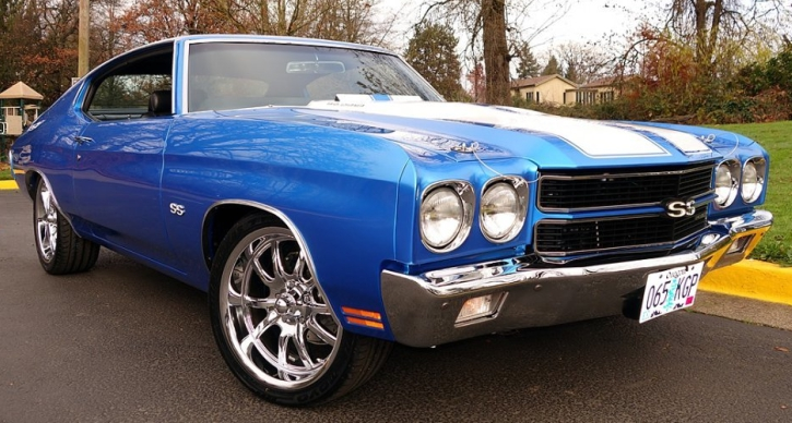 1970 chevy chevelle ss pro touring