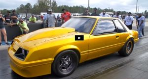 goldilocks ford mustang drag racing