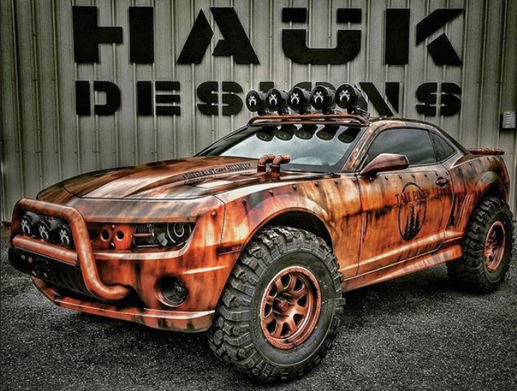 hauk desing 2010 camaro off road