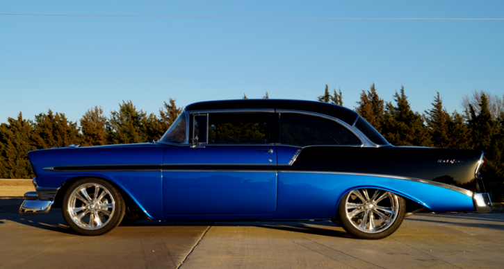1956 chevy belair restomod
