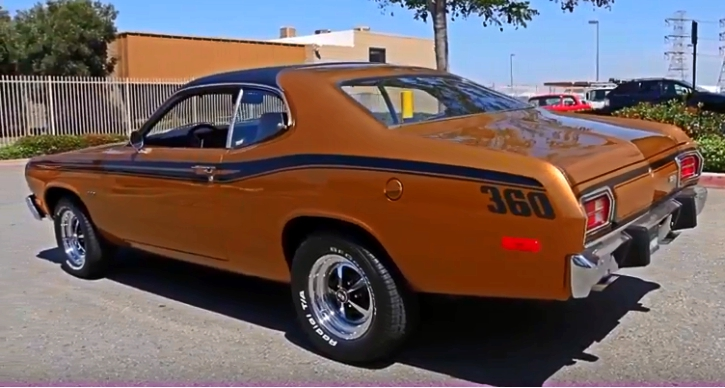 plymouth gold duster 360 automatic
