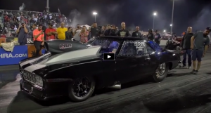 nitrous gen 1 chevy camaro drag racing