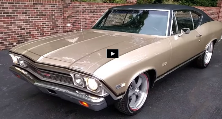 1968 chevy chevelle restored