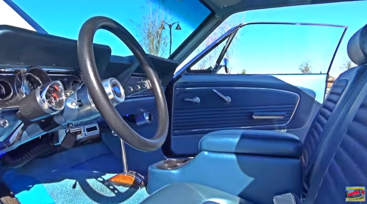 sapphire blue 1966 mustang 302 automatic