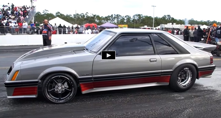 quiet riot 2.0 fox body mustang drag racing