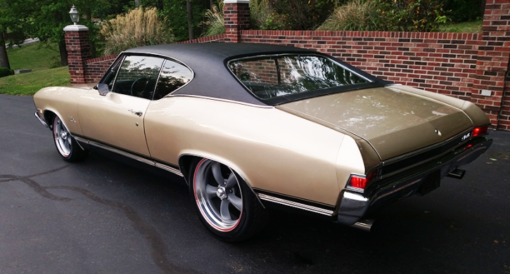 restored 1968 chevy chevelle 350