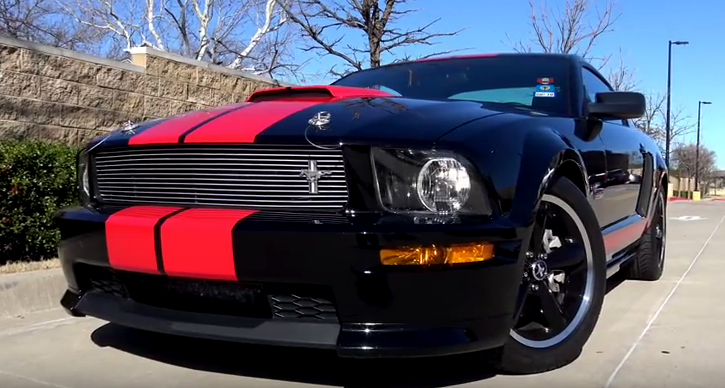 2008 mustang shelby gt special edition