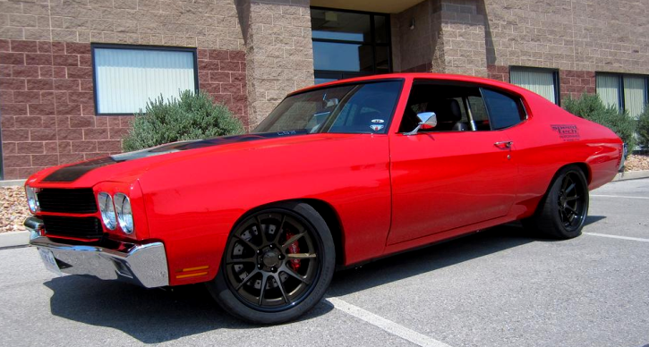 pro touring 1970 chevy chevelle gm crate motor