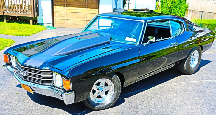 1972 chevy chevelle 454 big block