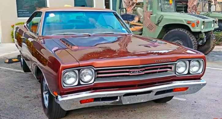 restored 1969 plymouth gtx 3 speed