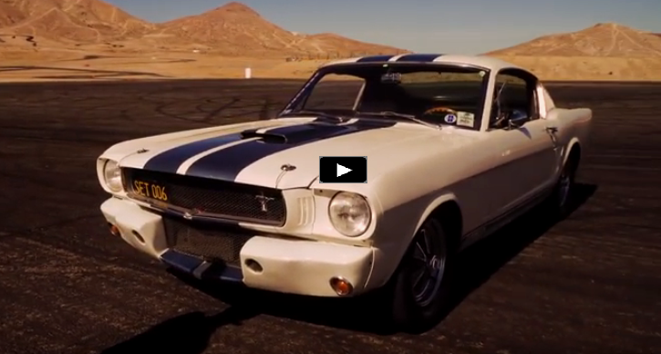 1965 shelby gt350 video