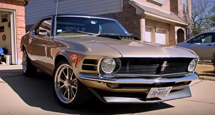 1970 mustang coupe the hoss