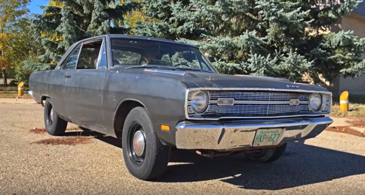 1969 dodge dart swinger 340 4 speed
