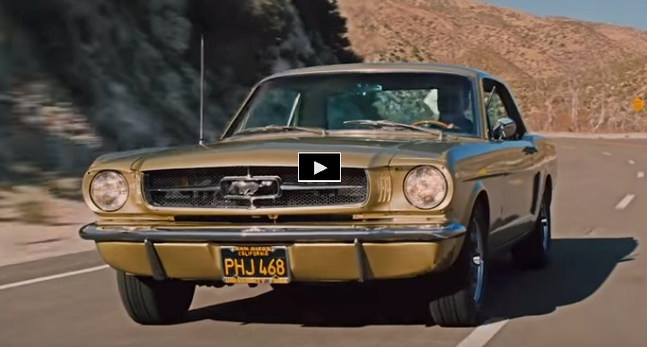 honey gold 1965 ford mustang