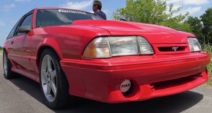 procharged fox body mustang 5.0