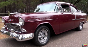 1955 chevy post hot rod 350 four speed