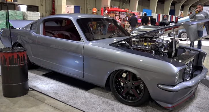 1966 ford mustang toxic 66