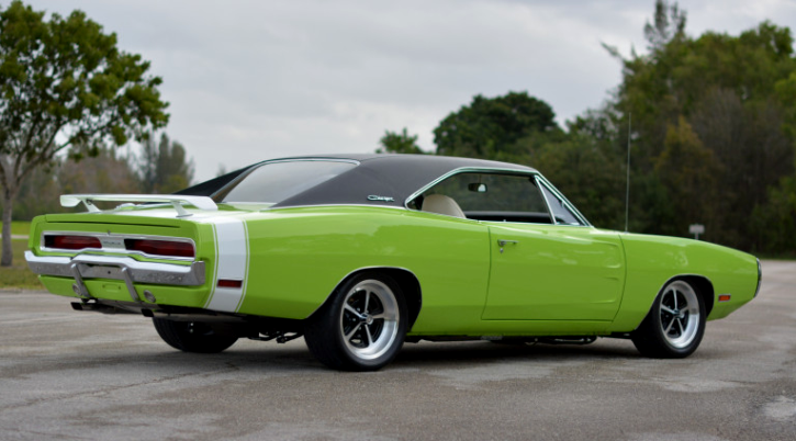 sublime green 1970 dodge charger 528 hemi