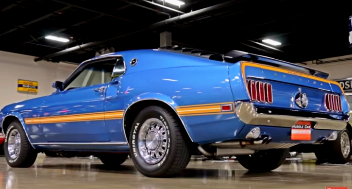 1969 ford mustang 428 cobra jet ram air