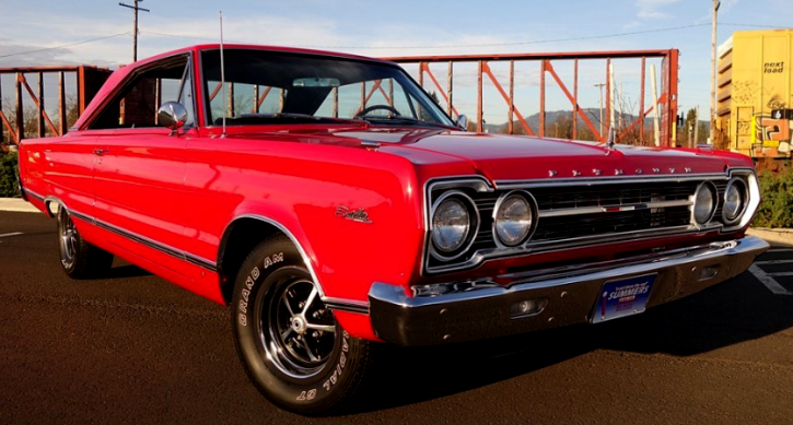 1967 plymouth satellite 383 automatic