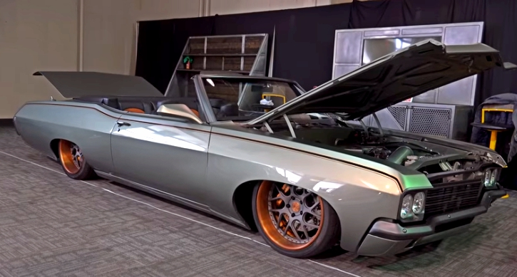 1970 chevy impala custom greengo