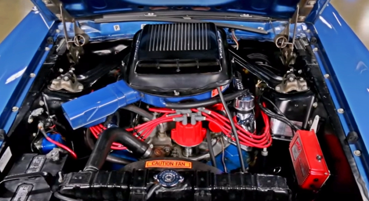 acapulco blue 1969 mustang mach 1