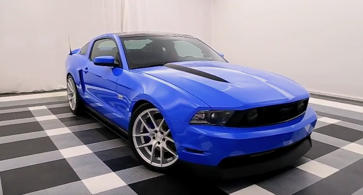 procharged 2010 ford mustang gt custom