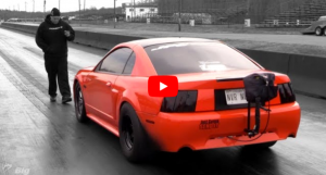 turbo mustang drag racing