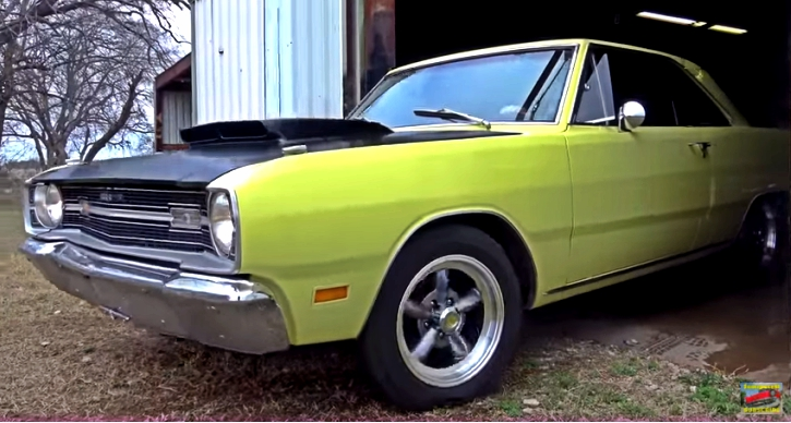 1969 dodge dart 340 four barrel