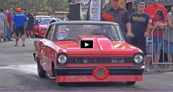 red chevy nova lights out 9