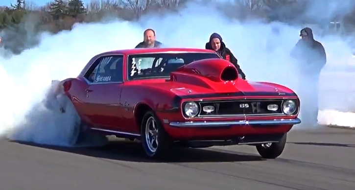 first gen chevy camaro testing