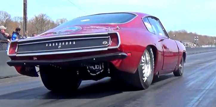9 second plymouth barracuda drag racing