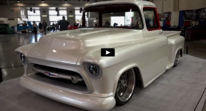 custom built 1957 chevrolet pick up truck