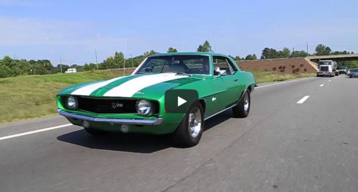 rallye green 1969 chevy camaro