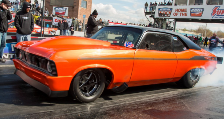 justin martin chevy nova drag racing