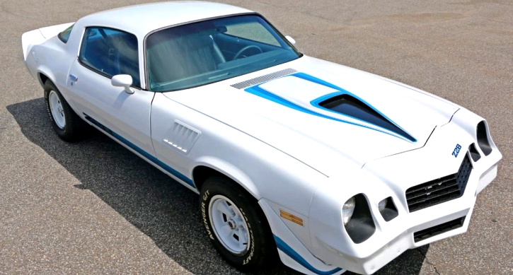 restored 1979 chevrolet camaro z28