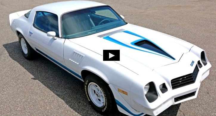 1979 chevrolet camaro 350 restored