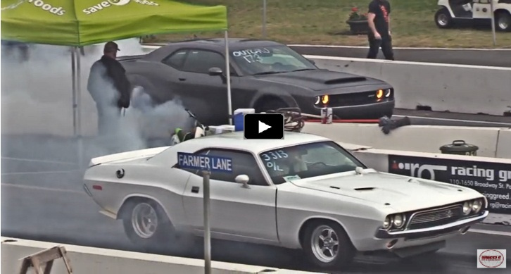 1972 dodge challenger drag racing 2018 srt demon