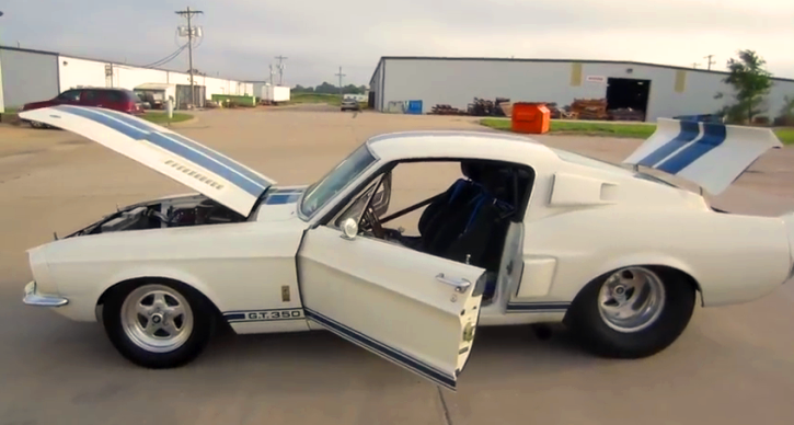 1967 shelby gt350 pro street muscle car