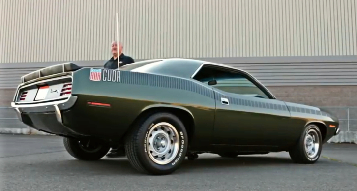 1970 plymouth aar cuda 340 six barrel up close