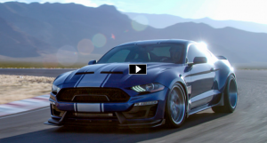 new shelby super snake video