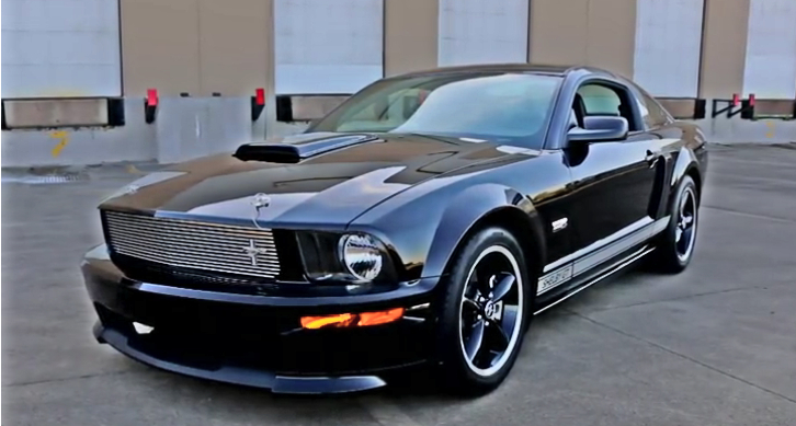 2007 mustang shelby gt brothers collection