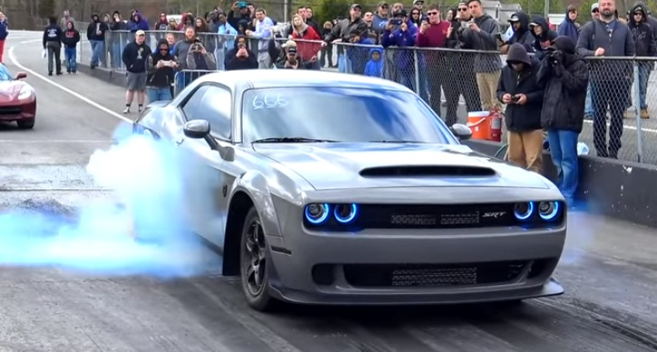 srtmush dodge demon record