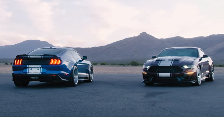 2018 shelby super snake video