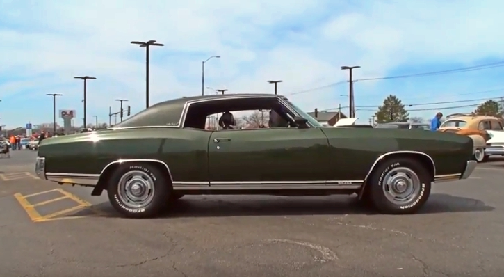 all original 1971 chevy monte carlo ss