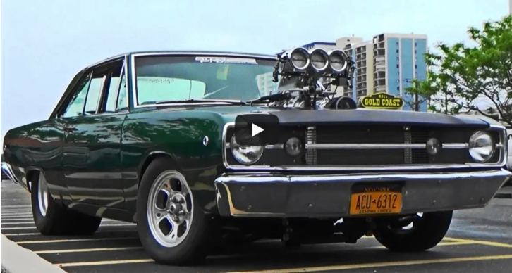 blown 1968 dodge dart pro street