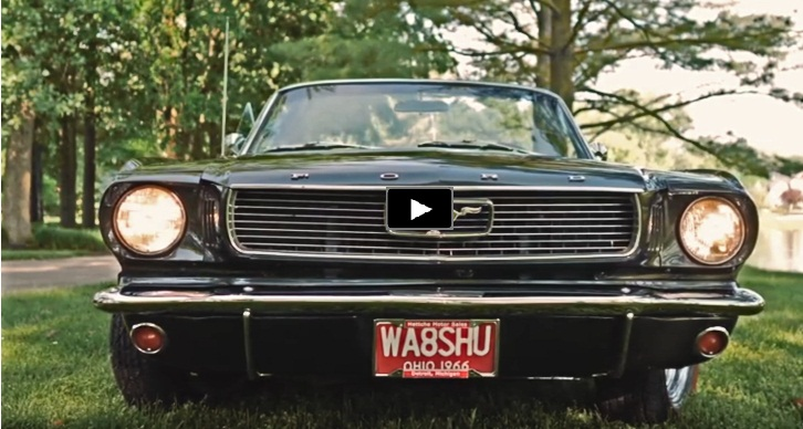 convertible 1966 ford mustang